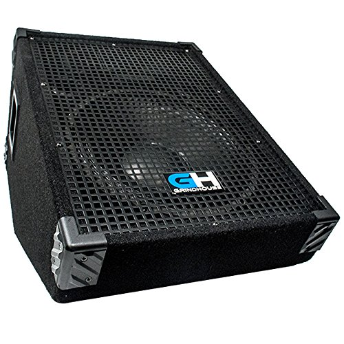 Grindhouse Speakers - 12 Inch Passive Wedge Floor / Stage Monitor