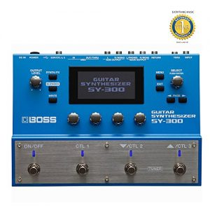 Boss Guitar Synthesizer with Microfiber and Free EverythingMusic