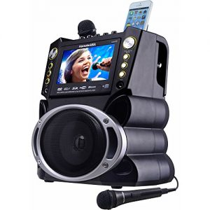 (OLD MODEL) Karaoke USA Karaoke System with 7-Inch TFT Color Screen