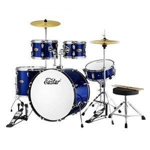 Eastar 22 inch Drum Set Kit Full Size for Adult Junior Teen 5 Piece