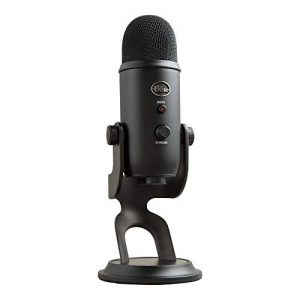BLUE Condenser Microphone, Blackout, Mic Only