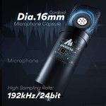 USB Microphone with Studio Headphone Set 192kHz/24 bit MAONO A04H Vocal Condenser Cardioid Podcast Mic for Mac and Windows, YouTube, Gaming, Livestreaming, Voice Over 1