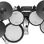 Roland TD-17KVX Electronic Drum Set Bundle with Drum Throne, 3 Pairs of Sticks, Audio Cable, and Austin Bazaar Polishing Cloth 1