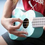 Sandona AK60F Soprano Basswood Ukulele,Children Musical Instruments, 21 Inch with Gig Bag for kids Students and Beginners, Blue and Flower 3