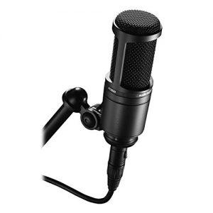 Audio-Technica Cardioid Condenser Studio XLR Microphone