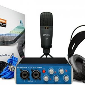 PreSonus AudioBox Studio USB 2.0 Recording Bundle with Interface