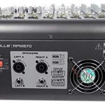Rockville RPM870 8-Channel 6000w Powered Mixer, USB, Effects For Church/School 2