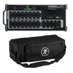Mackie DL32S 32-Channel Wireless Digital Live Sound Mixer with Built-in Wi-Fi for Multi-Platform Control – with DL32S Digital Mixer Bag