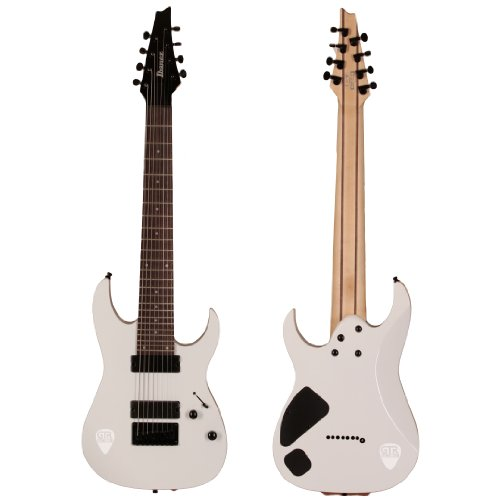 Ibanez 8-String Electric Guitar White