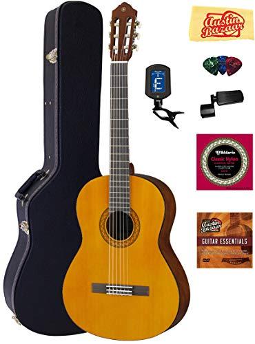 Yamaha Nylon String Acoustic Guitar Bundle with Hardshell Case