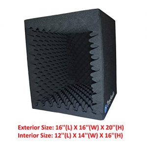 TroyStudio Portable Sound Recording Vocal Booth Box