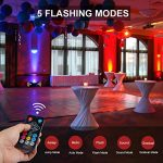 Par Lights DMX, RGB 36 LED DJ Stage light Sound Activated 7 Modes Uplighting with Remote Control DJ Equipment for Church Club Christmas Wedding Party Indoor Event Dance (2 Pack) 3