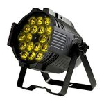 Monoprice Stage Wash PAR Stage Light | 18 Watt, x 18 LED, 6-Channel