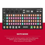 Akai Professional Fire | Performance Controller for FL Studio With Plug-And-Play USB Connectivity, 4 x 16 Velocity-Sensitive RGB Clip Matrix, OLED Display and FL Studio Fruity Fire Edition Included 3