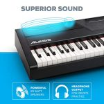 Alesis Recital Pro   Digital Piano / Keyboard with 88 Hammer Action Keys, 12 Premium Voices, 20W Built in Speakers, Headphone Output & Powerful Educational Features 2