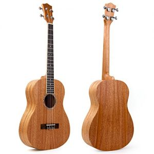 Baritone Ukulele 30 Inch Ukelele Uke 4 String Guitar With Ukele Picks Strap