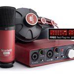 Focusrite Scarlett 2i2 Studio (1st GENERATION) Audio Interface and Recording Bundle 1