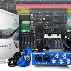 PreSonus AudioBox Studio with Headphones, Microphone