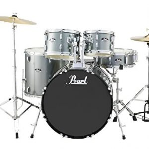 Pearl Roadshow 5-Piece Drum Set, Charcoal Metallic