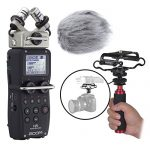 Zoom H5 Four-Track Handy Recorder Kit with Deadcat Windscreen