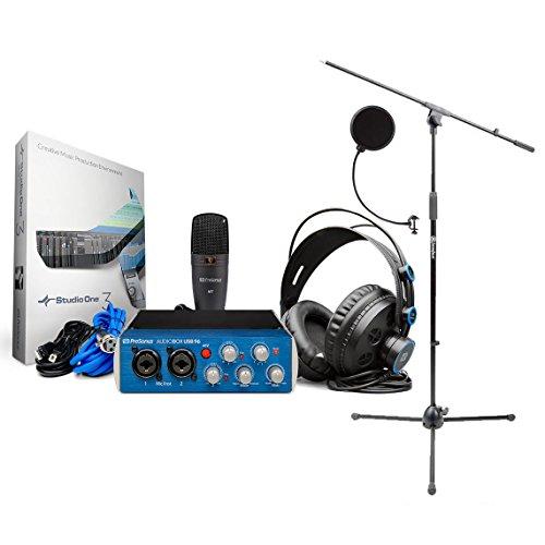 PreSonus AudioBox 96 Studio Recording Package BONUS