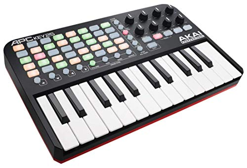 Akai Professional APC Key 25 | Compact USB Bus-Powered 40-Button Clip