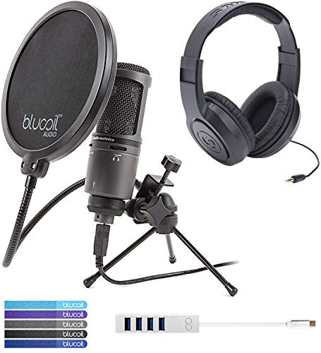 Audio-Technica Cardioid Condenser Microphone Bundle