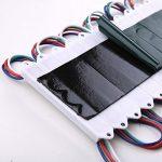 VIPMOON 200Pcs/600LEDs Storefront Lights DC 12V 5050 RGB SMD 3 LED Module Lights Waterproof Light Lamp 2