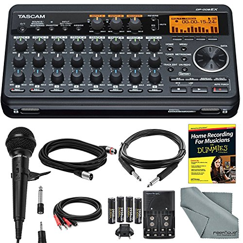 Tascam 8-Track Digital Pocketstudio and Deluxe Bundle