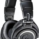 Audio-Technica Professional Studio Monitor Headphones, Black