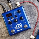 NUX JTC PRO Drum Loop PRO Dual Switch Looper Pedal 6 hours recording time 24-bit and 44.1 kHz sample rate 1