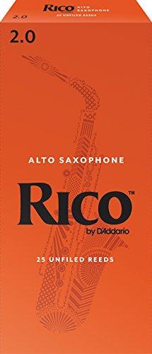D'Addario Woodwinds Alto Sax Reeds, Strength