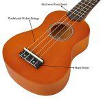 Soprano Ukulele Beginner Pack-21 Inch w/Gig Bag Fast Learn Songbook Digital Tuner All in One Kit 2