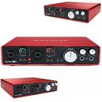 Focusrite Scarlett 6i6 USB Audio Interface (2nd Generation) includes Bonus Audio-Technica Professional Monitor Headphones and More 2