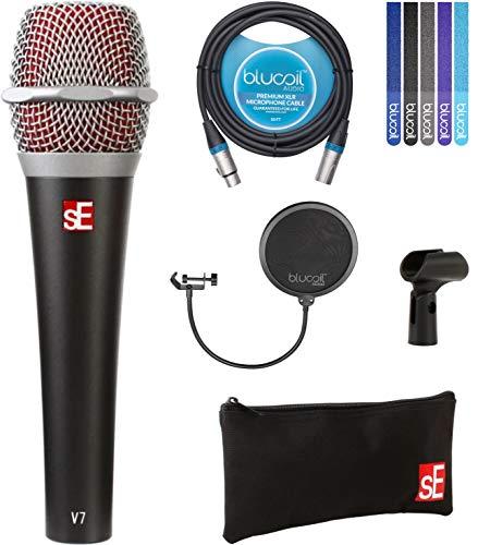 Electronics V7 Supercardioid Vocal Dynamic Handheld Microphone Bundle