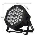 Par Lighting for Stage, 36x1W LED RGB 7 Channel with Remote for DJ KTV Disco Party (8 PCS) 1
