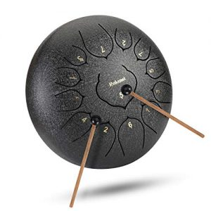 12 Inch 13 Note Steel Tongue Drum Percussion Instrument Lotus