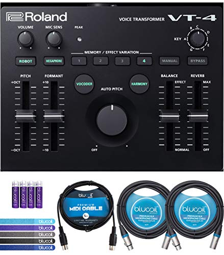 Roland Voice Transformer Vocal Effects Processor Bundle