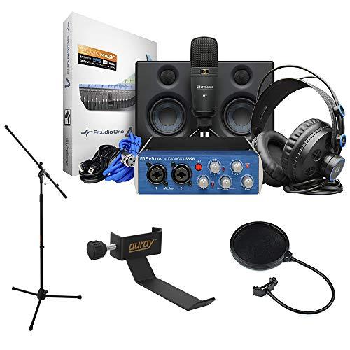 PreSonus AudioBox Studio Ultimate Deluxe Hardware/Software Recording Bundle