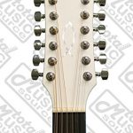 Oscar Schmidt OD312CEWH 12-Strings Acoustic Electric Guitar with Barcus Berry EQ4T Preamp System – White 3