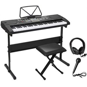 ZENY 61 Key Portable Electronic Keyboard Piano with Built in Speakers