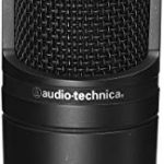 Audio-Technica AT2020 Condenser Studio Microphone with XLR Cable Knox Studio Stand and Pop Filter 2