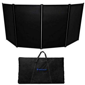 Rockville DJ Event Facade Light Weight Metal Frame Booth+Travel Bag