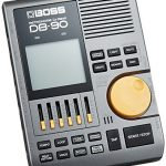 BOSS DB-90 Dr. Beat Electronic Metronome Bundle with 2 9V Alkaline Batteries, Blucoil 9V AC Adapter, 2-Pack of 10-FT Mono Instrument Cables, 2-Pack of 5-FT MIDI Cables, and 5x Cable Ties 1