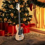 GLARRY 4 String GJazz Electric Bass Guitar Full Size Right Handed with Guitar Bag, Amp Cord and Beginner Kits (Burly Wood)… 3