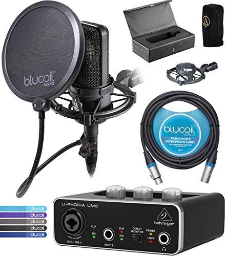 Audio-Technica Condenser Microphone Bundle
