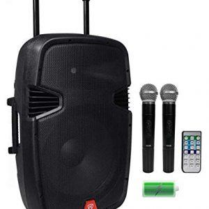 "Rockville 15"" Portable YouTube Karaoke Machine/System"