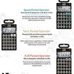 Teenage Engineering PO-30 Pocket Operator Metal Series Super Set Bundle with 3-Pack of CA-X Silicone Cases, and Blucoil 3-Pack of 7″ Audio Aux Cables 2