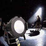 HSL LED Par Lights Stage Lighting, 200W COB Warm & Cold White