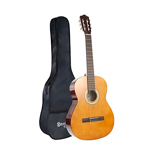 Strong Wind Classical Acoustic Guitar 39 Inch 4/4 Size 6Nylon Strings